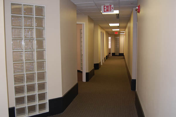 Another example of our hallways.
