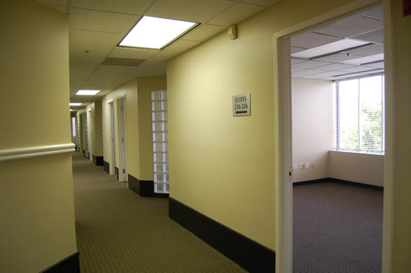 A view of the southernmost hallway.