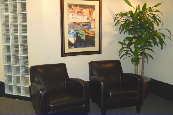 Deluxe Reception Area